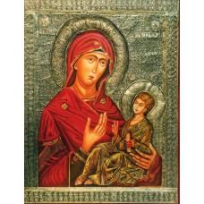 Ohrid Icon Holy Mother of God Peribleptos 14th century