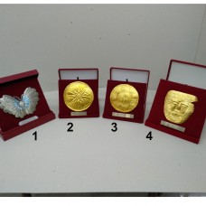 Plaques medium (silver-plated, gold-plated)