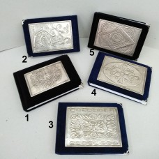 Notepads small (silver-plated, gold-plated)