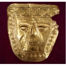 Gold Mask: Late 6-5th C.B.C. Trebenista - Ohrid
